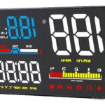 D5000 Car HUD Head Up Display Windscreen Projector