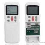 Digital LCD Display Universal Air Conditioner Remote Control