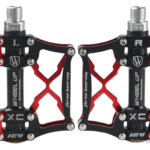 WHEEL UP Ultralight Sealed Bearing Aluminum Alloy MTB Mountain Bicycle Pedal (Pair)