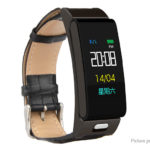 A9S 2-in-1 0.96″ IPS Touch Screen Smart Bracelet + Bluetooth V4.0 Headset