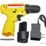 12V Cordless Rechargeable Electric Drill Power Tool