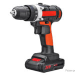 24V Dual Speed Cordless Rechargeable Electric Drill Power Tool