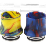 Authentic Clrane Stainless Steel + Resin Hybrid 810 Drip Tip (2 Pieces)