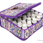 30-Slot Essential Oil Storage Bag Portable Travel Carrying Case