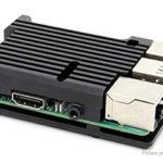 Aluminum Alloy Protective Case / Enclosure for Raspberry Pi 3B/3B+