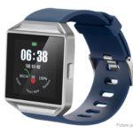 MTS001 1.54″ TFT Touch Screen Smart Bracelet Wristband