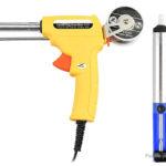 60W Automatic Send Tin Electric Welding Soldering Gun (EU)
