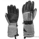 HIKEMAN Unisex Winter Hand Warmer Full Finger Skiing Gloves (Pair/Size XL)