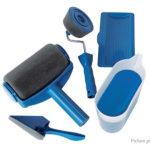 Painting Brush Home Repair Tool Paint Roller Kit