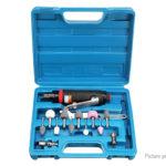 Air Die Grinder Pneumatic Rotary Grinding Polishing Tool Kit