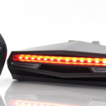 Remote Control Bicycle LED Safety Warning Tail Light
