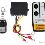 Wireless Winch Remote Control Kit for Vehicle Car