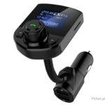 Car Bluetooth V4.1 MP3 Player FM Transmitter Dual USB Cigarette Lighter Charger