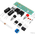 5V 3A DIY Double LM7805 Diffuser Regulator Module Kit