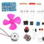 DIY LM358 DC Motor Speed Controller Kit DC Motor Speed Module Kit