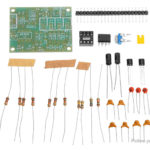 NE555 Multichannel Waveform Generator DIY Electronic Training Kit