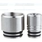 Authentic Skullvape Stainless Steel 810 + 510 Drip Tip (2 Pieces)