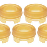 Replacement PEI Top Cap for Dome V2 RDTA Atomizer (5-Pack)