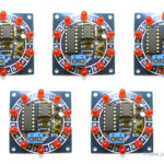 Wheel of Fortune LED Marquee Light DIY Electronic Training Kit (5-Pack)