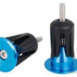 Aluminium Alloy MTB Bicycle Handlebar Grip Bar End Plug (Pair)