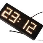 Car DIY Dot Matrix Digit LED Electronic Clock Kit