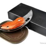 Outdoor Damascus Steel Mini Folding Knife