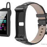 B3S 2-in-1 0.96″ Bluetooth V4.2 Headset Sports Smart Bracelet