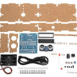 DIY Ultrasonic Ranging Module Radar Alarm Electronic Kit