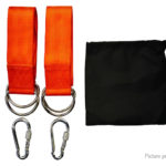 Outdoor Swing Yoga Hammock Hanging Kit (2-Pack)