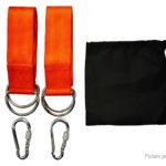 Outdoor Swing Yoga Hammock Hanging Kit (2-Pack)