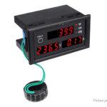 Multifunctional DL69-2048 Digital Display AC Voltmeter Ammeter Voltage Current Meter
