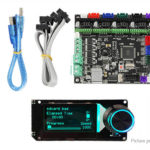 MKS Gen L Motherboard + Mini12864 LCD Display Marlin Compatible DIY Kit