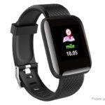 D13 1.3″ Touch Screen Bluetooth V4.0 Sports Smart Bracelet Wristband