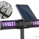 Outdoor Solar Powered LED Mosquito Pest Killer Lamp Lawn Light