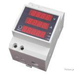 D52-2048 LED Digital AC Power Meter Voltmeter Current Meter