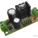 LM7812 DC 12V Three-terminal Voltage Regulator Power Supply Module Kit