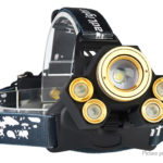 Outdoor Hunting Camping Cycling LED Headlamp w/ Focus Zoom
