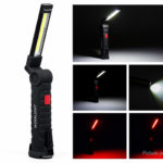 Cycle Zone Folding COB LED Work Light Emergency Maintenance Lamp (Size L)