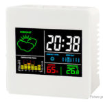 Multifunctional Digital Alarm Clock Thermometer Hygrometer Weather Station