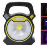 15W Portable COB LED Floodlight Camping Lantern
