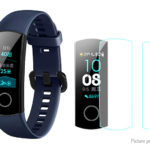 MIJOBS TPU Screen Protector for Huawei Honor Band 4 Running Version (4-Pack)