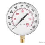 TS-Y91 1/4″ NPT Side Mount 0-300psi 0-2000kPa Pressure Gauge Manometer