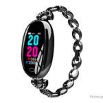 E68 0.96″ IPS Touch Screen Bluetooth V4.0 Lady Smart Bracelet Wristband