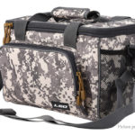 LEO Portable Square Fishing Tackle Lure Reel Bag Shoulder Crossbody Bag