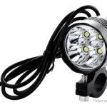 40W LED Motorcycle Headlight Spotlight Fog Lamp