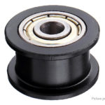Smooth Idler Passive Bearing Wheel Pulley w/ 625 Bearing for 3D Printer