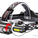 Portable Outdoor LED Headlamp Flood Light