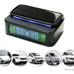 LT-168 Color LCD Solar Powered TPMS Tire Pressure Monitoring System Detector