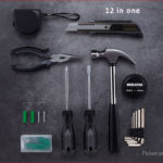 Authentic Xiaomi Youpin JIUXUN 12-in-1 Household Hand Tool Repair Tools Kit