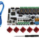 Dotbit RUMBA Motherboard + TMC2130 V1.0 Stepper Motor Driver DIY Kit